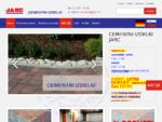 Cementni izdelki Jarc - tlakovci, škarpnice, palisade