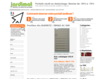 Jardimat destockage portails pvc, bois, aluminium, métal