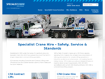 Crane Hire UK - Mobile Crane Hire, Heavy Transport, Crane Rental - Jardine Crane