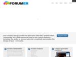 Forum not Found - 1 Free Forum Hosting - Forumer