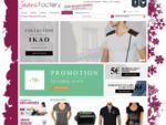 Jeans Factory Vêtement de marques homme et femme jeans Diesel guess G-star Kaporal Calvin Klein