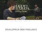 Développement web freelance HTML5 - CSS3 - jQuery - PHP5 Jérémy Dutheil