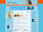jeZorg. nl | Je persoonlijke netwerk, forum en weblog in Gezondheidszorg en Mantelzorg
