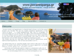 Hotels of Parga Jiovanni Studios in Parga Greece