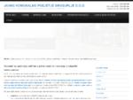 Javno komunalno podjetje Grosuplje - Vzdrževanje in obratovanje