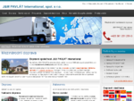 Mezinárodní nákladní doprava, kamionová doprava - JM PAVLÁT