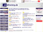 jobdirectory. de - Alles über Online-Rekrutierung und die Stellensuche im Internet