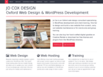 Jo Cox Design | Oxford web design, website development, hosting and training
