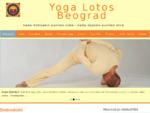 Yoga Lotos Beograd 124; kada dobijamo punimo ruke - kada dajemo punimo srce