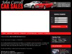 John Carroll Car Sales