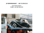 Depannage remorquage automobile region Paris, enlevement de vehicules et destruction d'epave