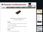 JS Computer Komponenten