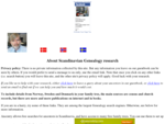Scandinavian Genealogy