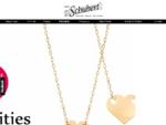 Sklep jubilerski, biżuteria srebrno i złoto, obrączki - Jubiler Schubert