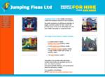 jumping fleas bouncy castle hire