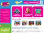Jump First Jumping Castles - jumping castle hire Adelaide SA - party hire - bouncy castles - slides