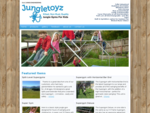 JungleToyz - Jungle Gym Rugby Posts Products