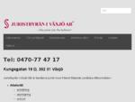 Juristbyrån i Växjö AB