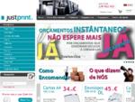 JustPrint - Papel de Carta, Envelopes, Cartões de Visita, Flyers, Folhetos, Cartazes, Postais, ...