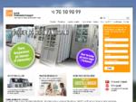 Vinduer og døre inkl. Montering 10 års garanti - JVK Vinduer