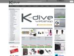 K-dive Home - K-dive webshop