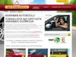 Kaarinan Autokoulu - Kaarina ja lähikunnat | Kaarinan Autokoulu Oy