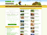 Kaimo turizmas Lietuvoje, Kaimo sodybos, Atostogos kaime