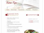 Kaisan Tupa | ruokapaikka, juhlapaikka, kotiruokaa, pitopalvelu, ravintola, terassi, Hinnerjo