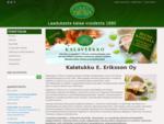 Etusivu | Kala, kalat, kalaa, tukku, myynti, tukkumyynti, sushi, | Kalatukku E. Eriksson Oy