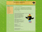 Lutkovne in glasbene predstave, animacije in delavnice za otroke | Domov