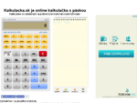 Online kalkulačka s páskou - Kalkulacka. sk