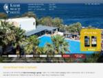 Kamari Beach Hotel in Santorini