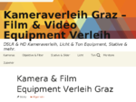Kameraverleih Graz - Film Video Equipment Verleih - DSLR HD Kameraverleih, Licht T