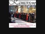 Choeur de chambre Kamerton, dirigé et créé par Oleg Afonine. Rennes, Ille et Vilaine