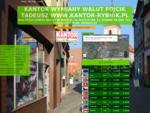Kursy Walut - Kantor Wymiany Walut Fojcik Tadeusz www. Kantor-Rybnik. pl