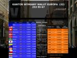 Kantor Katowice, kursy walut katowice, internetowy kantor Katowice, kursy EUR USD, kantory w Kat