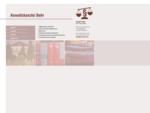 Anwaltskanzlei Behr, Rechtsanwauml;ltin Annelore Behr, 01468 Moritzburg-Friedewald