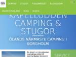 Ölands närmaste camping - Kapelludden Camping och Stugor, mitt i Borgholm på Öland