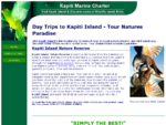 Kapiti Marine Charter - Kapiti Island Nature Tours and Daily Ferry Service