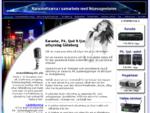Karaoke, PA, ljud ljus uthyrning Göteborg | projektorer | ljuseffekter uthyres