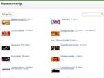 Karaokė Online - Karaokė kategorija