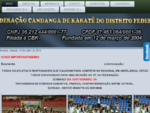 FCK - FEDERAÇàO CANDANGA DE KARATE DO DISTRITO FEDERAL - Inicio