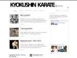 Sundsvall Kyokushin Karate | Karatesektionen i Sundvalls Budoklubb