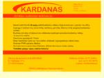 UAB Kardanas - kardaniniu velenu remontas ir balansavimas