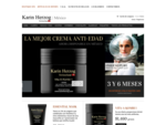 Karin Herzog México, La mejor línea de cosmeticos con oxigeno y colageno en Internet