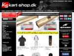 Kart-shop. dk - Beklædning, tilbehør og sikkerhedsudstyr til karting og banerace