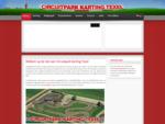 Welkom op de site van Circuitpark Karting Texel