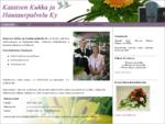 Kataisen Kukka ja Hautauspalvelu Ky, Pielavesi - Palvelua iloon ja suruun