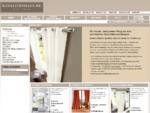 Vorhänge, Gardinen und Stores im Online Shop von Kavaliershaus