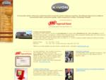 KAVON CZ s. r. o. - Úvodní stránka